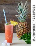 Tropical Smoothie. Pineapple...