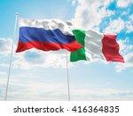 3d illustration of russia  ... | Shutterstock . vector #416364835