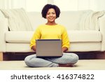 people  technology and leisure... | Shutterstock . vector #416374822