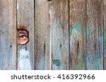 Eyes A Man Spying - Fine Art prints