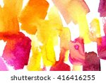 macro watercolor background... | Shutterstock . vector #416416255