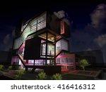 3d rendering and design  ...   Shutterstock . vector #416416312