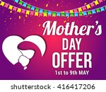 banner flyer or poster of... | Shutterstock .eps vector #416417206