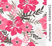 Vector Seamless Flowers And...