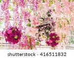 "street festival ""moscow spring"" ... | Shutterstock . vector #416511832"