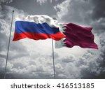 3d illustration of russia  ... | Shutterstock . vector #416513185