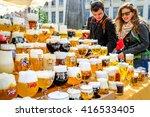 ghent  belgium   may 03  2014 ... | Shutterstock . vector #416533405