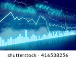business chart   great for... | Shutterstock . vector #416538256