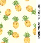 exotic seamless pattern with... | Shutterstock .eps vector #416551288