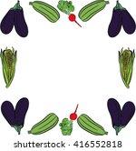 vegetables | Shutterstock .eps vector #416552818