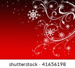 abstract christmas light red... | Shutterstock . vector #41656198