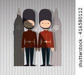 city of london design  | Shutterstock .eps vector #416580112