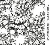 abstract elegance seamless... | Shutterstock . vector #416584852