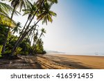 great pacific beach on cape... | Shutterstock . vector #416591455