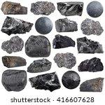 set of various carbon ... | Shutterstock . vector #416607628