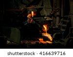 production of aluminium master... | Shutterstock . vector #416639716