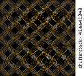 seamless geometric pattern on... | Shutterstock .eps vector #416641348