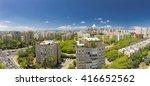 tel aviv cityscape   ramat aviv ... | Shutterstock . vector #416652562