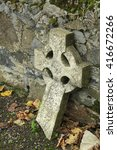Image Of A Old Celtic Cross...