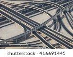 Ring Road In Dubai With Severa...