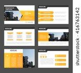 orange multipurpose... | Shutterstock .eps vector #416763142
