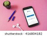 bangkok thailand   may 7 2016 ... | Shutterstock . vector #416804182