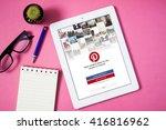 bangkok thailand    may 7 2016  ... | Shutterstock . vector #416816962