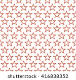 background contours of red... | Shutterstock .eps vector #416838352
