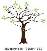 vector illustration of a fun... | Shutterstock .eps vector #416844982