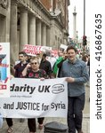 london  united kingdom   may 7  ... | Shutterstock . vector #416867635