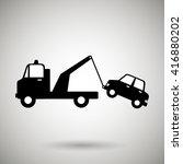 parking sign design  | Shutterstock .eps vector #416880202
