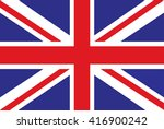 flag british .flag united... | Shutterstock .eps vector #416900242