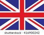 flag british .flag united... | Shutterstock .eps vector #416900242