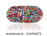 world  of flags | Shutterstock . vector #41696872