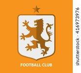 Soccer Football Badge Logo...