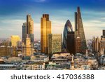 london  england   business... | Shutterstock . vector #417036388