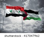 3d illustration of syria  ... | Shutterstock . vector #417047962