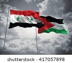 3d illustration of syria  ... | Shutterstock . vector #417057898