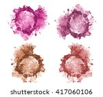 Set Of Four Blushes And Face...