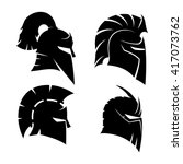 Vector Set Of Signs. Knight's...