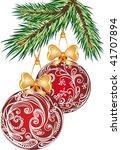 christmas card | Shutterstock .eps vector #41707894