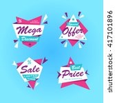 special offer sticker sale.... | Shutterstock .eps vector #417101896