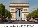 paris  france may 08  2016  ...   Shutterstock . vector #417147745