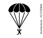 Parachute Diving Sky Jump Spor...