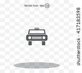 taxi icon   vector | Shutterstock .eps vector #417183598