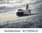 Space Shuttle Landing. 3d...