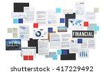 financial accounting balance... | Shutterstock . vector #417229492
