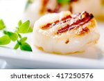 Grilled Scallops With Thyme...