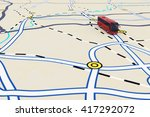 3d rendering of transport... | Shutterstock . vector #417292072