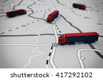 3d rendering of transport... | Shutterstock . vector #417292102